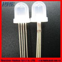 Wholesale 5mm RGB Diffused Color LED Diodes with 4pins from china suppliers