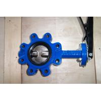 Wholesale Sanitary Cast Iron Lug Butterfly Valve API 609 / ISO 5752 / BS 5155, OEM offer from china suppliers