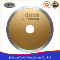 Wholesale Johnsontools Continuous Rim Diamond Blade , Diamond Disc Blades OEM Acceptable from china suppliers