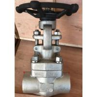 Wholesale Flanged Flexible Wedge Forged Steel Gate Valve Welded Bonnet OS&Y SW NPT API 602 from china suppliers