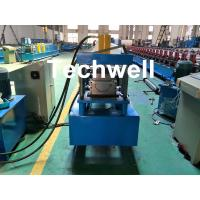 Wholesale Custom Made Half Round Gutter Cold Roll Forming Machine For 15 Stations Forming Stage from china suppliers