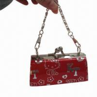 Wholesale PU Coin Purse with Metal Chain, Various Colors are Available from china suppliers