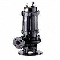 Wholesale Cast Iron Submersible Sewage Pump Corrosion Resistant For Polluted Water from china suppliers