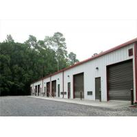 Wholesale Square Tube H Steel Sandwich Panel Metal Garage Buildings High Durability from china suppliers