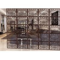Buy cheap Windproof Decorative Metal Screen Panels For Living Rooms / Halls / Offices from wholesalers