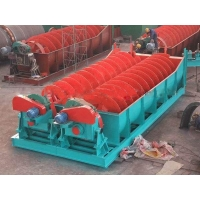 Wholesale Mineral Washing High Weir Spiral Classifier Single And Double Screw Type from china suppliers