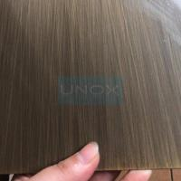 Wholesale SUS304 Hairline Bronze Stainless Steel Sheet ,PVD Color Decoration Sheets 1250mm 1500mm Copper, Brass, Bronze from china suppliers