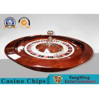 Buy cheap 32 Inch International American Roulette Wheel Board With Resin Ball / Play from wholesalers