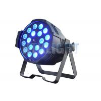 China led stage lighting for churches 18x10W RGBW 4in1 for stage, events, prodcutions, theatre,nightclubs on sale