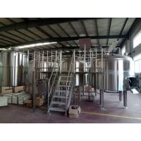 Wholesale Auto Control Stainless Steel Brewing Equipment Brewhouse System For Brewpub from china suppliers
