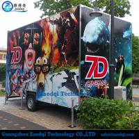 Wholesale Newest motion chairs truck mobile Xd cinema interactive 7d cinema for sale from china suppliers