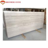 Wholesale Large Size White Wood Vein Marble Fashionable Appearance OEM Service from china suppliers
