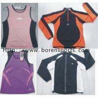 China Running Wear / Running Top/Running Vest/Jogging Wear on sale