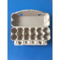 Wholesale plup paper egg tray egg packing box 12 pcs disposable egg packing box paper packing box from china suppliers