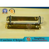 Wholesale Yellow Casino Game Accessories , Acrylic Metal Cash Box Coin Slot Inserts High Transparent Production Tip from china suppliers