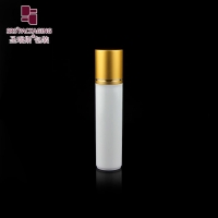 Wholesale SRS packaging white color round shape empty cosmetic 30ml plastic roll on bottle from china suppliers