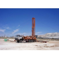 Wholesale 380NM 450m Trailer Mounted Drill Rig from china suppliers