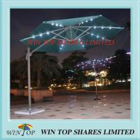 Wholesale 3.0m Solar Light Garden Umbrella for Outdoor and Patio from china suppliers