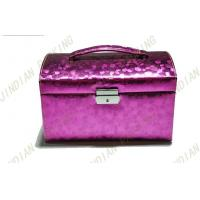 Wholesale Luxury Cardboard PU Leather Jewelry Boxes With Mirror For Gift Packing from china suppliers