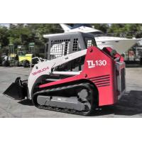 China Wear Resistance Continuous Replacement Skid Steer Rubber Tracks 320x86TKx52 For TAKEUCHI TL130,2- Type on sale