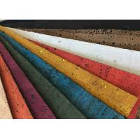 Buy cheap Portugal Cork Leather Fabric Hot Special Design Bread Veins High Color Fastness from wholesalers
