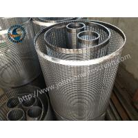 Wholesale High Capacity Filter Wedge Wire Mesh With Flange And Weld Rings from china suppliers