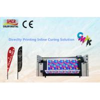 Wholesale CMYK Digital Fabric Plotter / Table Cover Textile Printing System With High Resolution from china suppliers