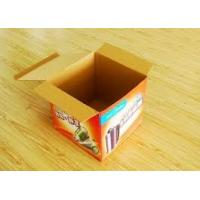 Wholesale Gold / silver stamping custom Colored Corrugated Packaging Boxes With ISO9001 from china suppliers