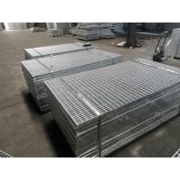 China 25x4.5mm Driveway Traffic Steel Floor Grating Covers 3 23x5mm Anti - Slip Places on sale