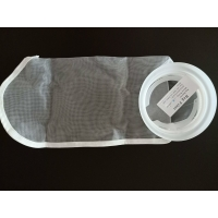 Wholesale Hanging Loop 60 Micron Liquid Filter Bag With Seam for industry filter bag from china suppliers