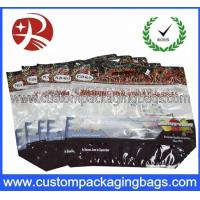 China Zipper Top Cherry Bag Fruit Packaging Bags Clear Plastic Bag on sale