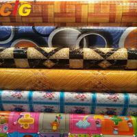 Wholesale Multi Color Printing Waterproof PVC Floor Covering 0.35 - 1.2mm Thickness from china suppliers