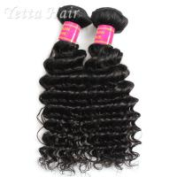 Real Deep Wave Indian 6A Virgin Hair  No Mixed Animal Hair or Synthetic Hair