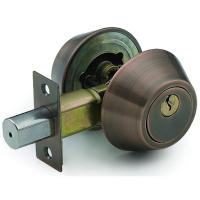 Wholesale High Quality Tri-Circle Deadbolt Door Lock D102AC from china suppliers