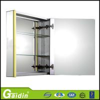 China quality assurance China factory aluminum alloy modren design wall mounted bathroom mirror cabinet on sale