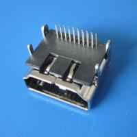Buy cheap ROHS&REACH compliance 19Pin HDMI A female DIP type connector from wholesalers