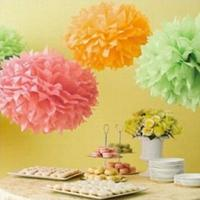 Wholesale Hot sale chinese handmade paper honeycomb ball/paper Pom Pom from china suppliers