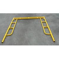Wholesale Yellow Coated Low Carbon Walk Through Scaffolding Frames American Design 5x5 from china suppliers