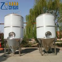 China 50HL / 10HL Craft Commercial Beer Brewing Equipment For Brewery Pub Custom Power on sale