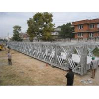 Quality Multiple - Span Modular Steel Bridges DS Double Single Type Bailey Bridge For Highway for sale