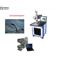 Wholesale Co2 Laser engraving machine for wood, plastic and other non-metal material . 10w 30w. from china suppliers
