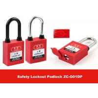 Wholesale Stainless Steel Key Retaining Master Key Xenoy Safety Padlock Lockouts from china suppliers