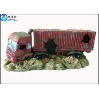 Simulation big truck cool fish tank decorations custom for Cool fish tanks for sale
