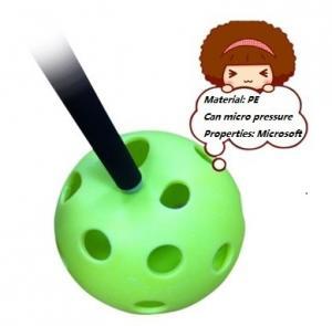 Wholesale amazing plastic hollow baseball wiffle ball,soft PE pickleball from china suppliers