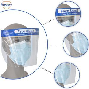 Wholesale Dental Splash EN166 Antiviral Face Shield with Sponge from china suppliers