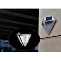 Wholesale Diamond Shaped IP65 Solar LED Motion Sensor Light , Solar Powered Outdoor Security Lights from china suppliers