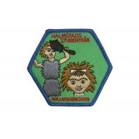China Halmstads Custom Embroidery Patches For Garments,Toys, Handbags And Footwears on sale
