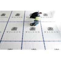 China Chemical resistance pp hollow board Moistureproof Floor Protection on sale