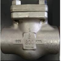 Wholesale API602  FORGED STEEL VALVE PISTON CHECK VALVE SW with nipple 150# A105 F304 F316 from china suppliers