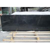China Outdoor Black Polished Granite Floor Tiles , Supreme Large Granite Slabs on sale
